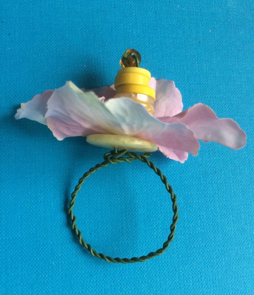Button Flower 10min DIY