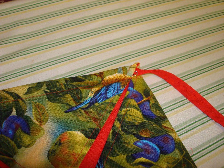 Threading the Ribbon Through the Casing