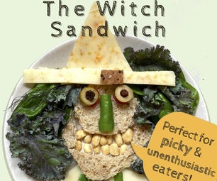The Witch Sandwich (for Picky and Unenthusiastic Eaters!)
