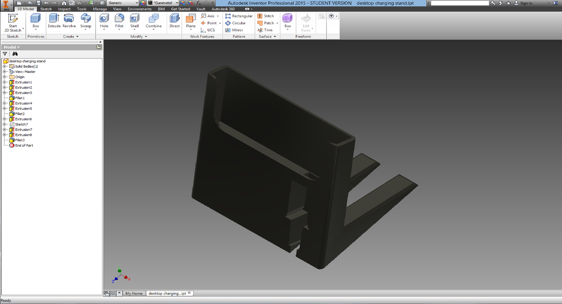 Designing Your Stand in CAD