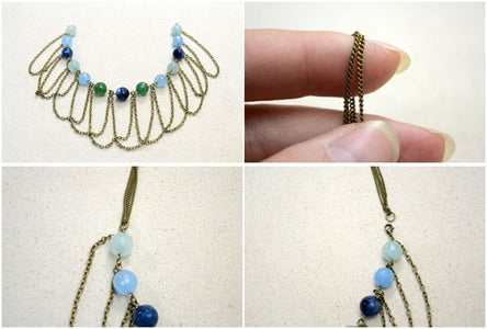 Complete the Necklace and Attach the Clasp