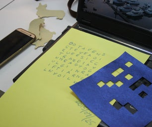 Fleissner Grille Cipher
