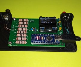RF Load With Power Meter for HF Radios