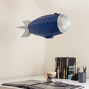 Airship Low Poly Papercraft 3D Model