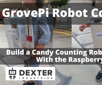 Candy Counting Robot Costume with the Raspberry Pi