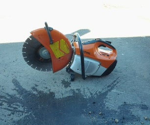 How to Saw-cut and Patch a Pothole in Asphalt