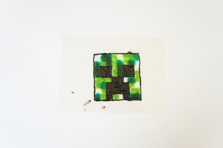 Peel Off Window Art