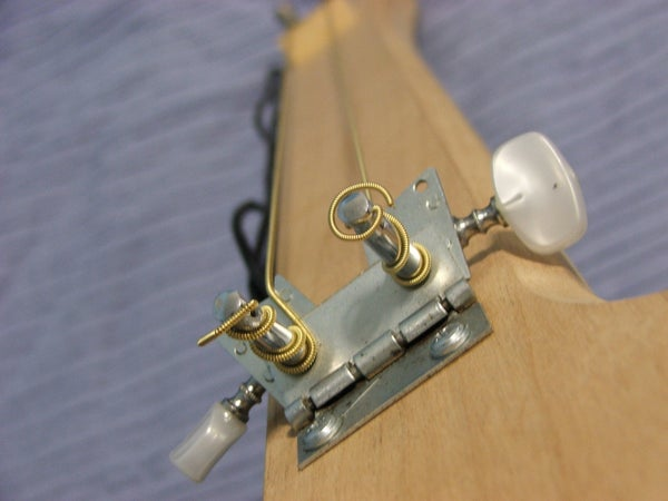 Home Made Electric Diddley Bo Guitar