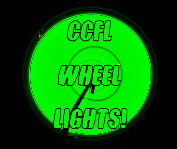 CCFL Bike Wheels! (Now With Video!)