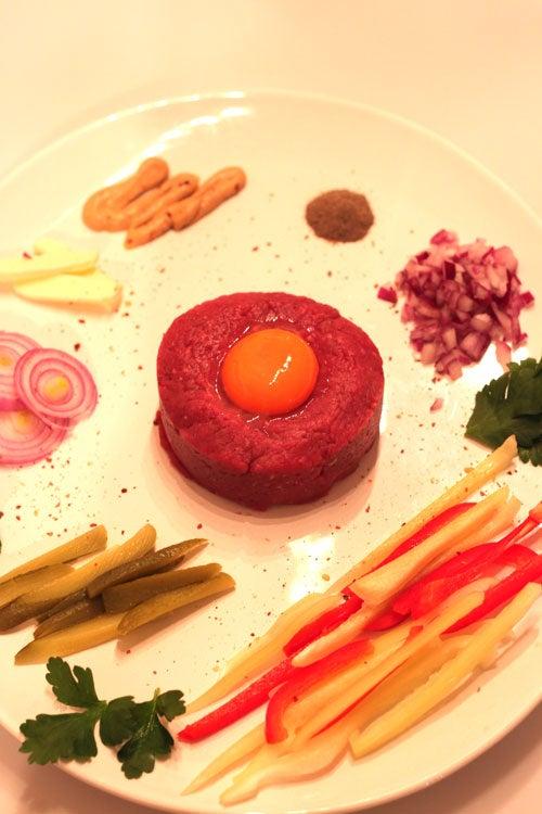 Steak Tartare - Charles Bronson Style