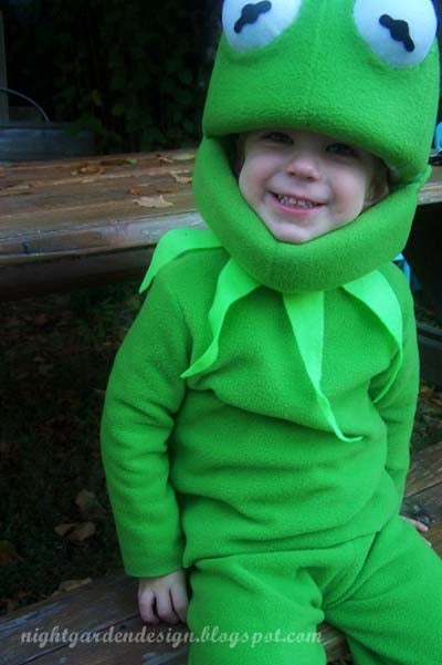 How to Make Your Own Kermit the Frog Costume