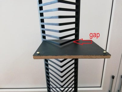 Fill the Gaps at the Shelves