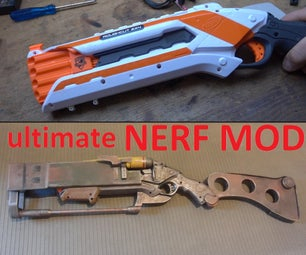 NERF Roughcut MOD: Fallout Laser Rifle !!!