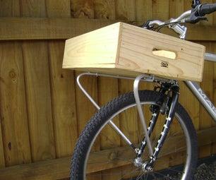 Weldless Front Bike Rack
