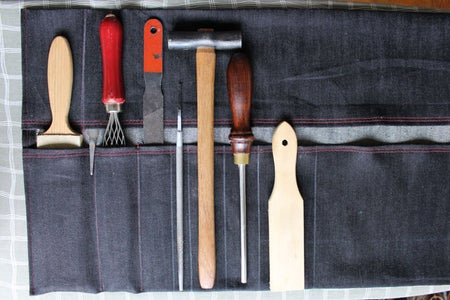 How to Make a Tool Roll - Bring Your Hand Tools With You Anywhere!