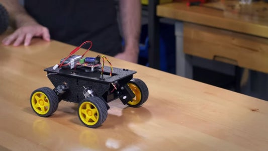 Control a Robot With a RC Transmitter & Receiver