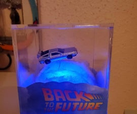 Back to the Future Diorama
