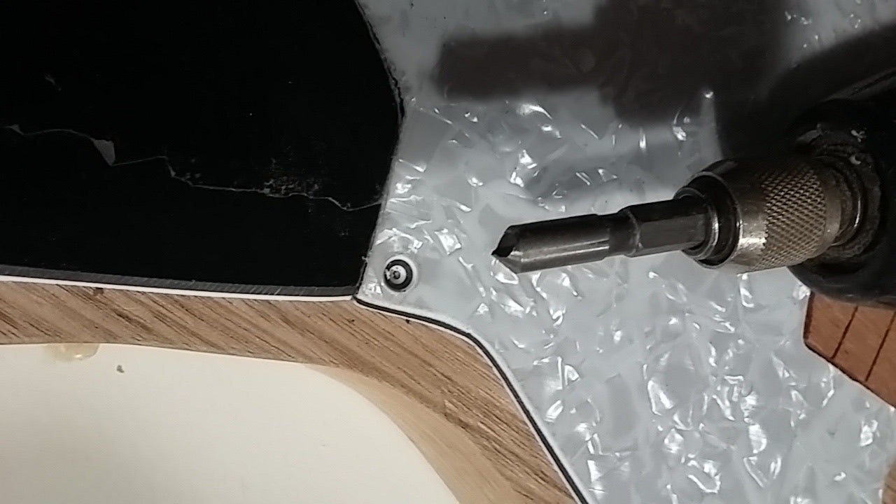Cutting Out Your Pick Guard