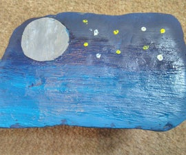 Space Themed Rock