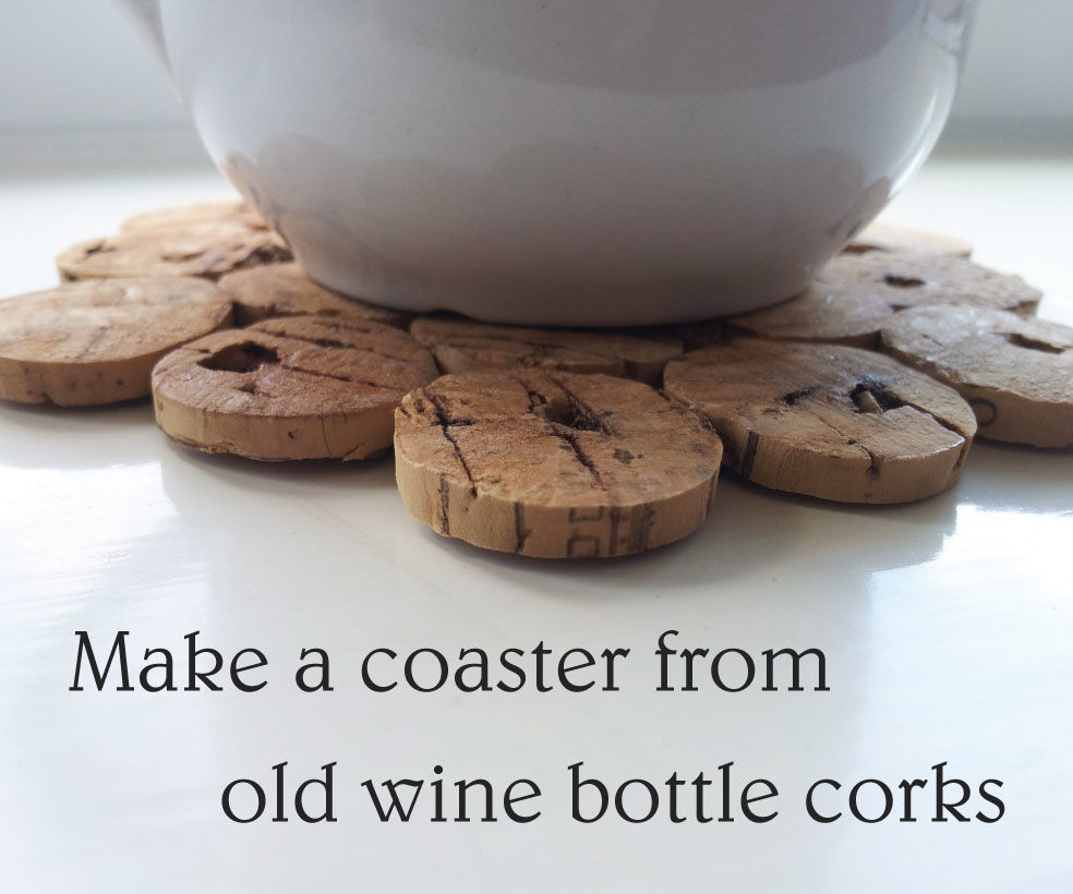 Make a Coaster From Old Wine Bottle Corks