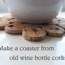 Make a Coaster From Old Wine Bottle Corks