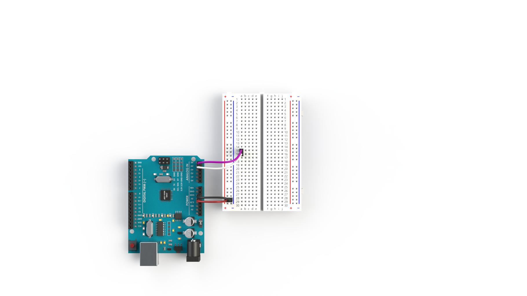 I2C Wiring of Three Arduinos