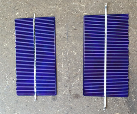 How to Split a Solar Cell Into Two