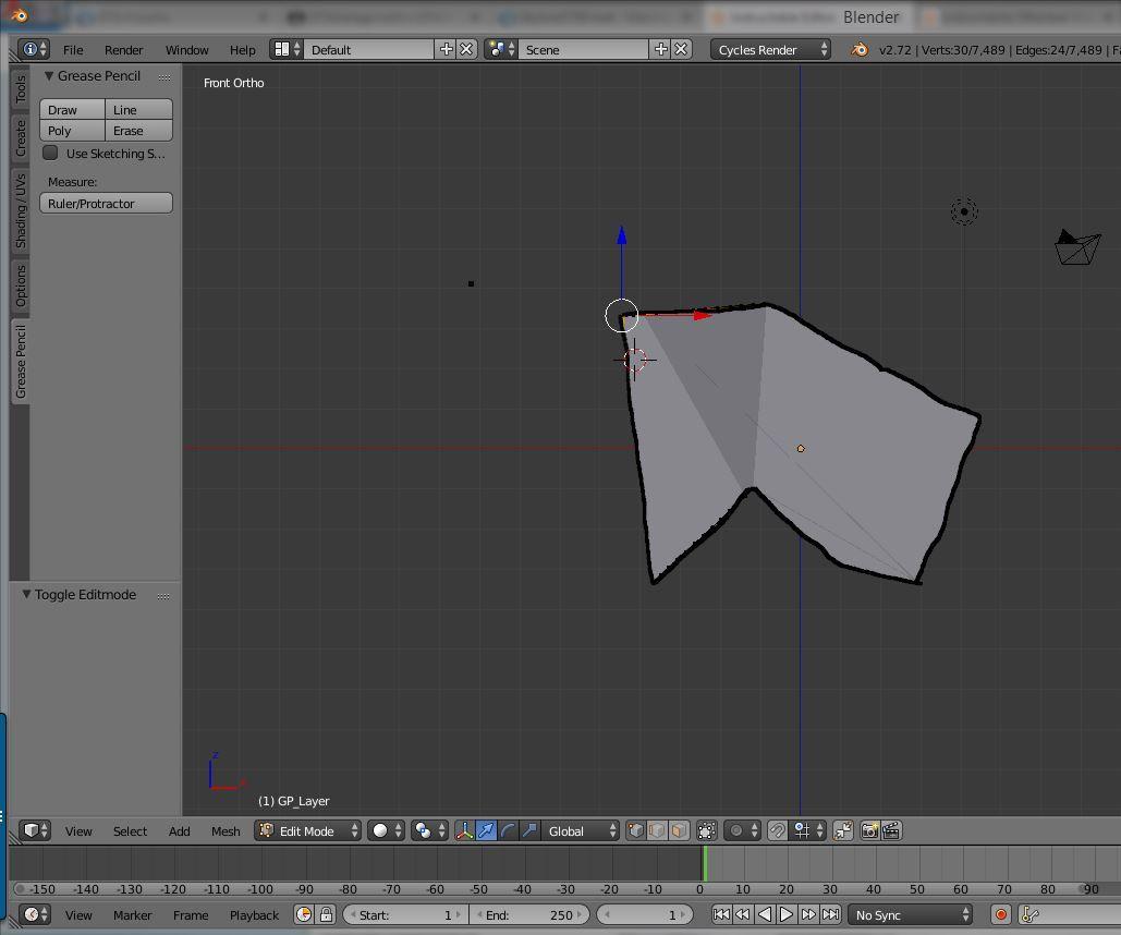 Model a Logo in Blender 3D