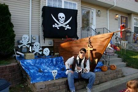 "Halloween Pirate Ship - ""Yee Must Walk the Plank!"" [PG]"