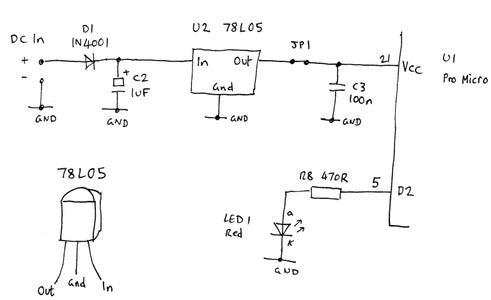 Power Supply Circuit (optional)