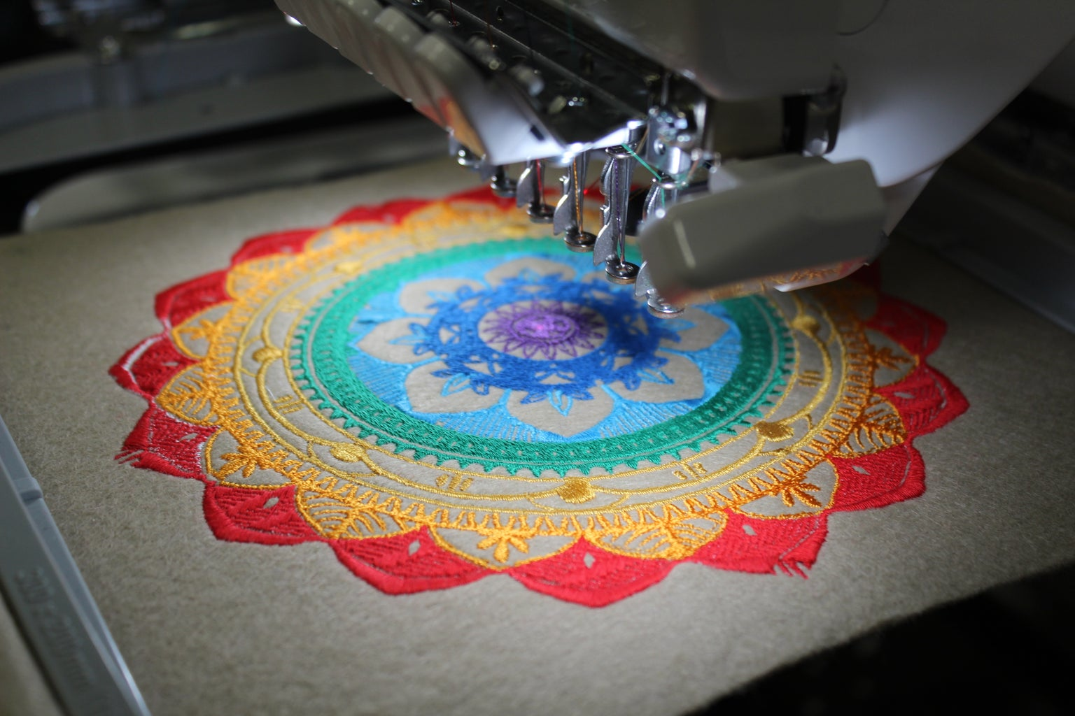 Embroider the File