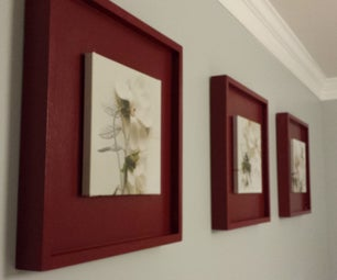 Making Picture Frames - IKEA Picture Hack