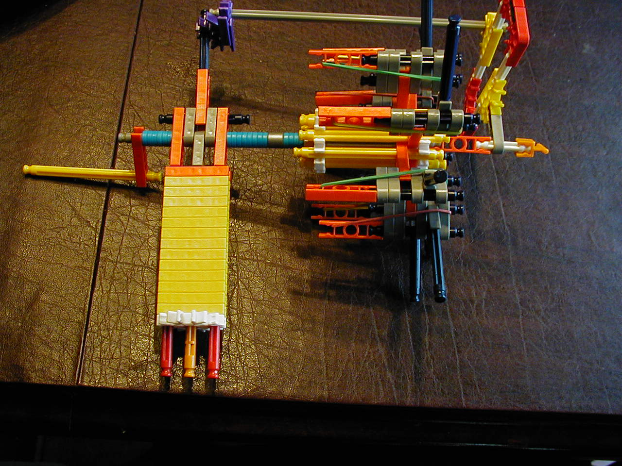 the ultimate knex turning gun