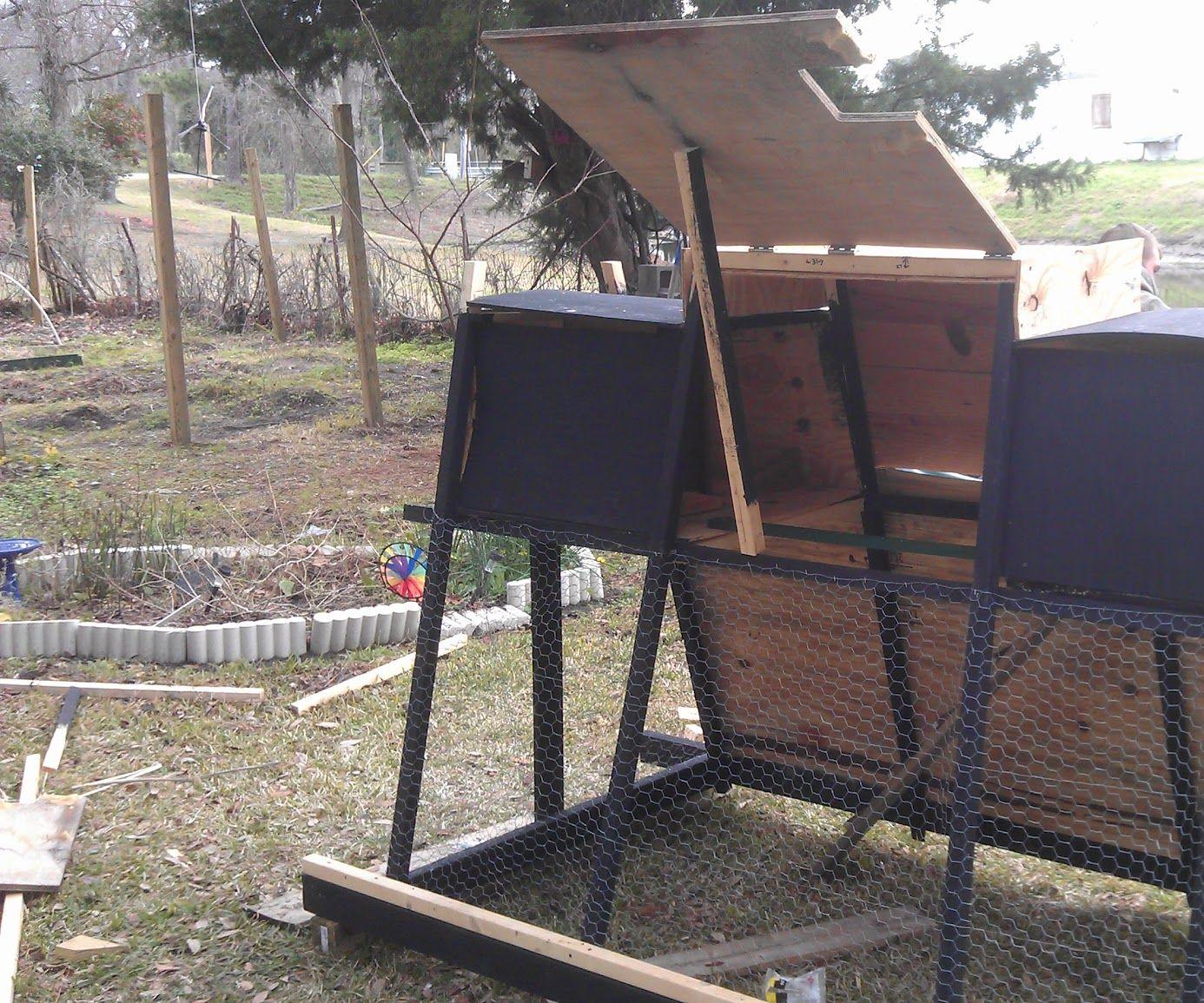Back Yard Chicken Tractor