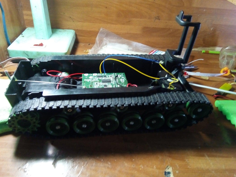 Tank Robot Homemade Camera Controller
