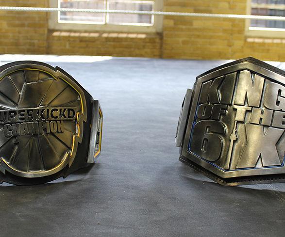 Championship Wrestling Belts!