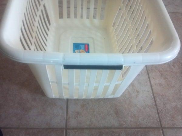 Housewares Repair: Laundry Basket Grab Handle. I Made It at TechShop
