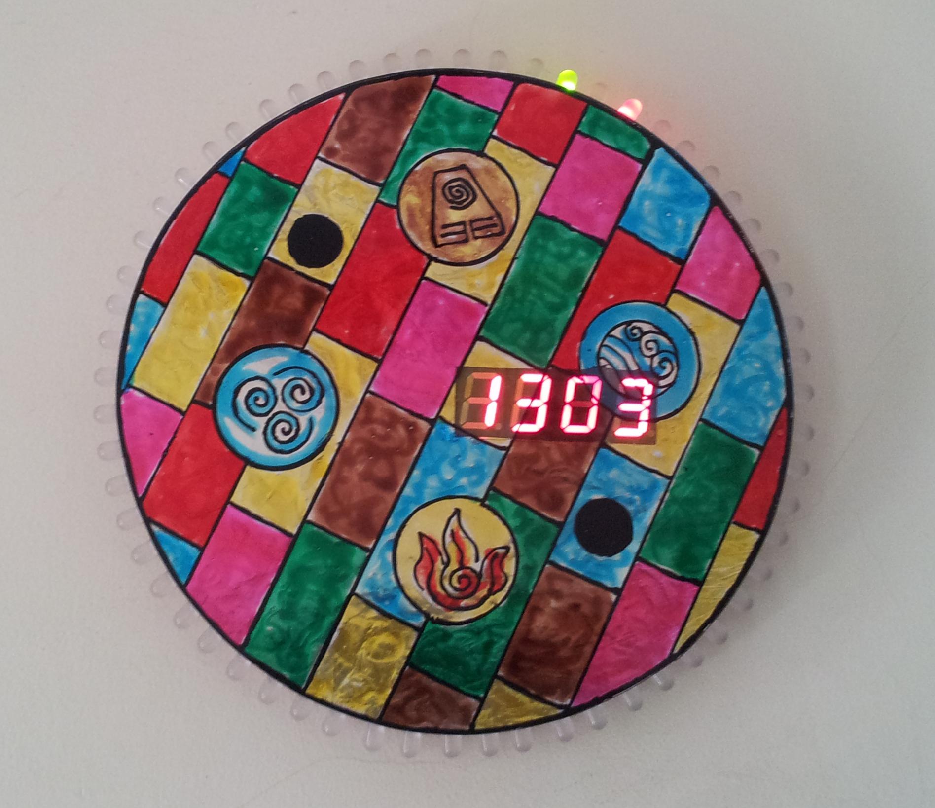 Arduino Digital Clock (With Charlieplexing LEDs, 7 segment Displays)