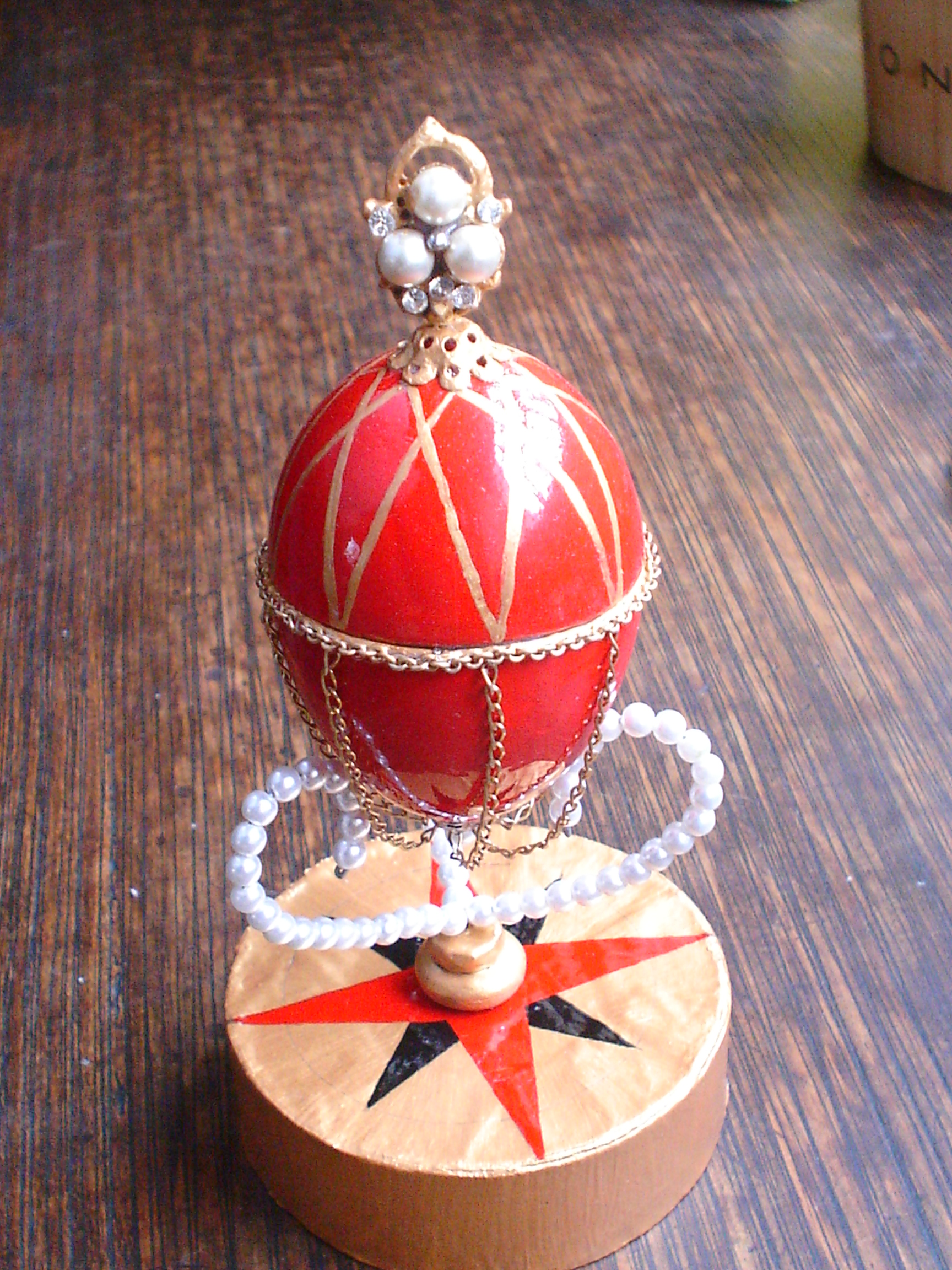 World-in-an-egg: Make a Fabergé-style hen egg