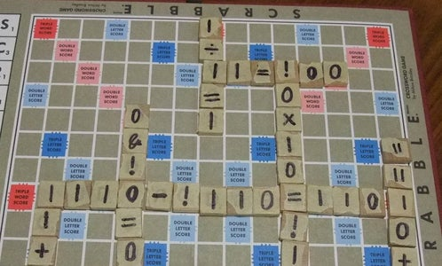 Binary Number Scrabble - the Game