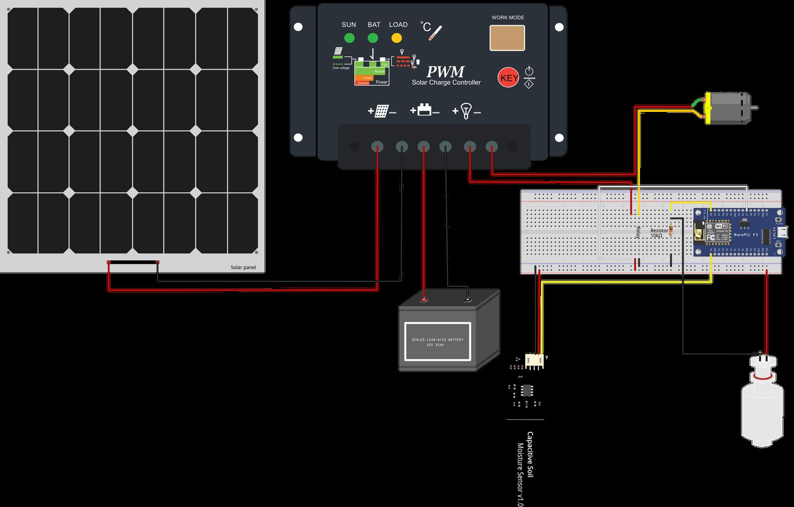 Autonomous Plant Watering System