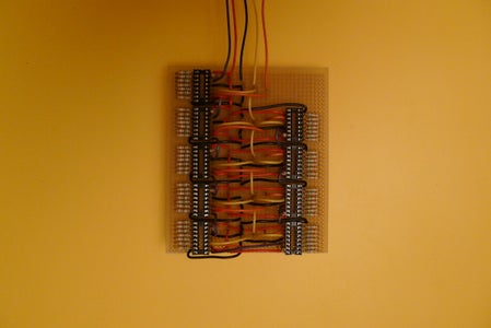 Making Electronics of CountClock Hour and Minute Prototype