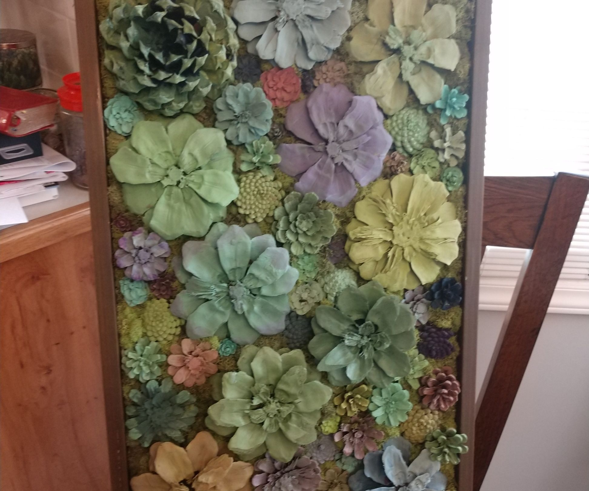 Artificial Succulent Art