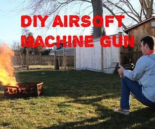 How to Make an Airsoft Machine Gun - DIY Vortex BBMG