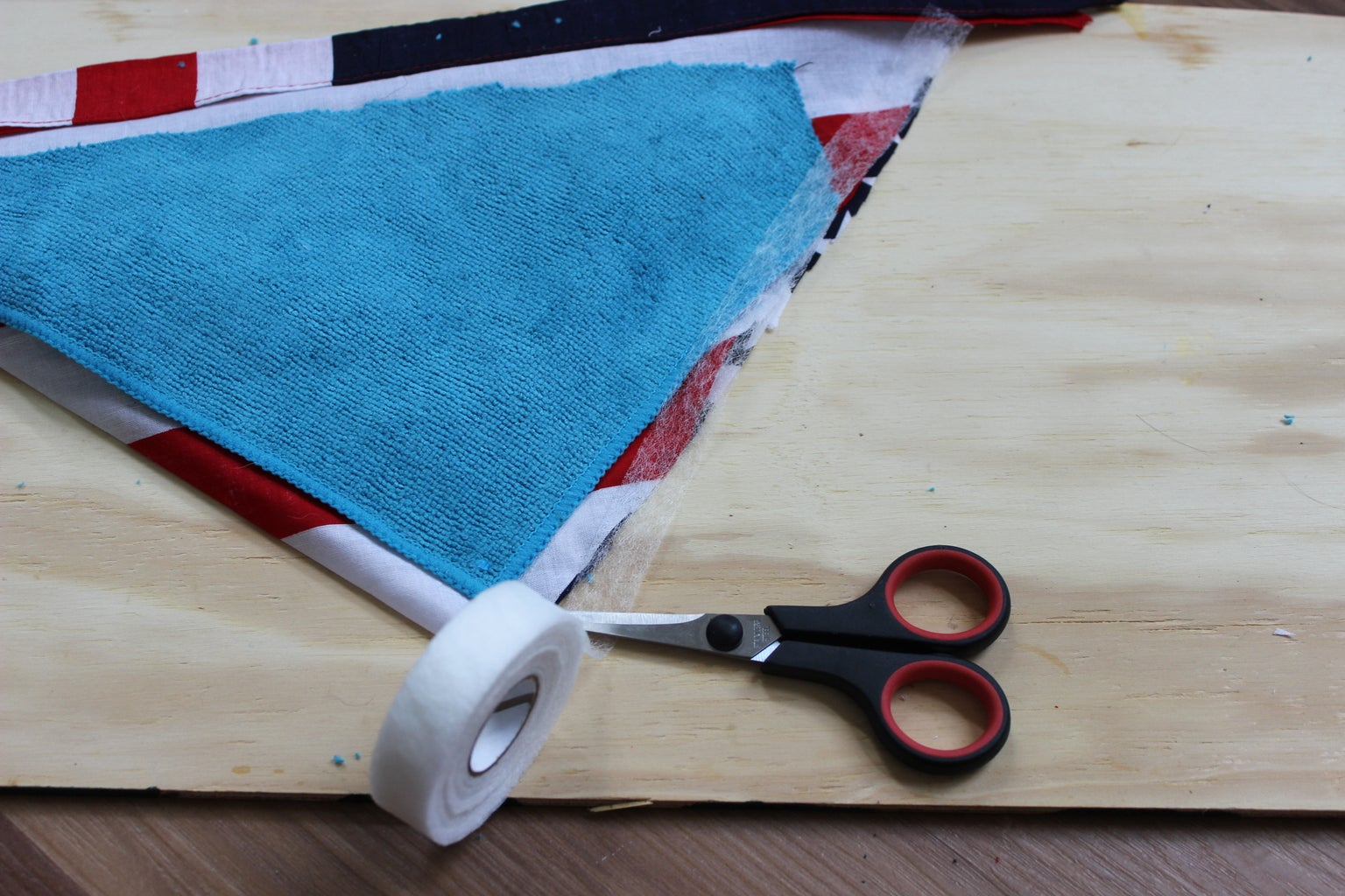 Bandana Triangle Design Part 3 (Optional): the Soft Underbelly and Retaining Strap