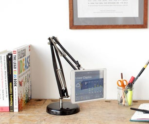 Adjustable Arm Tablet Stand