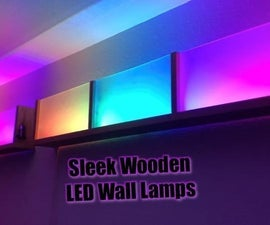 Modern Wifi Controlled LED Lamps