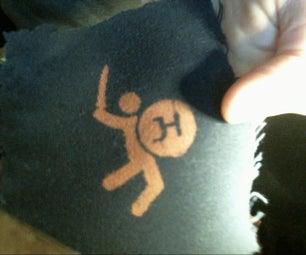 Reusable Bleaching Stencil
