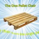 Single Pallet Chair