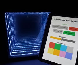 Arduino Infinity Mirror (Bluetooth & Sound Reactive)